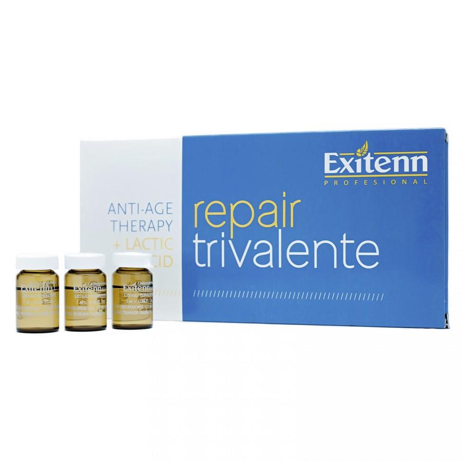 Реструктурирующая эмульсия для волос REPAIR TRIVALENTE