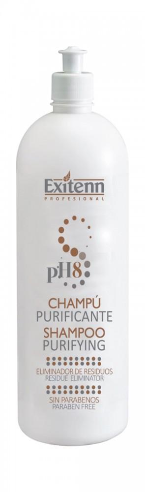 Шампунь для глубокой очистки волос PURIFICANTE PH 8