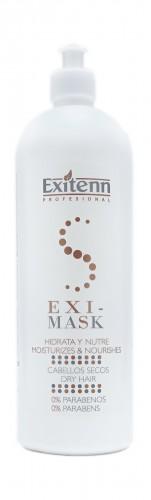 Восстанавливающая и питательная маска для сухих и пористых волосEXI-MASK